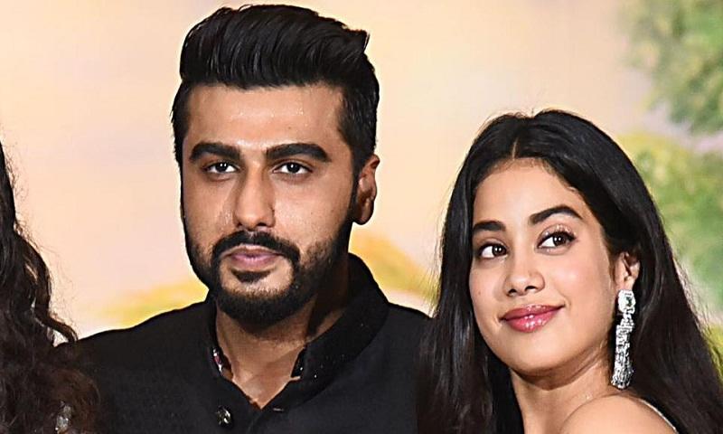 Arjun Kapoor has been left speechless by sister Janhvi Kapoor