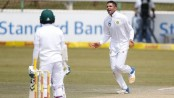 Maharaj's nine wicket haul lifts S. Africa in Sri Lanka Test