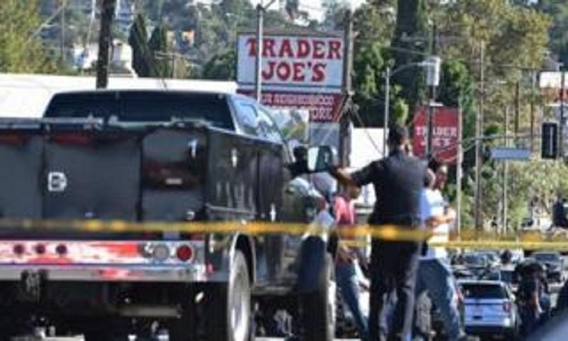 LA police arrest suspect after shop siege
