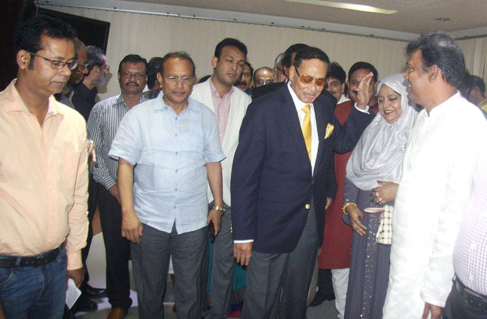 Ershad off to Delhi at Indian govt's invitation