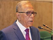 Find solutions to climate change problems: President
