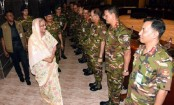 Disciplined army plays helpful role in establishing, integrating democracy: PM Sheikh Hasina