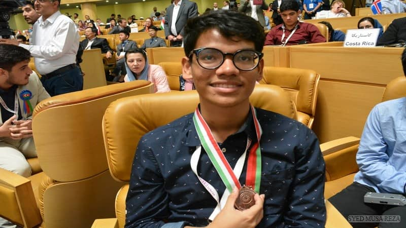 Bangladeshi student wins bronze in International Biology Olympiad