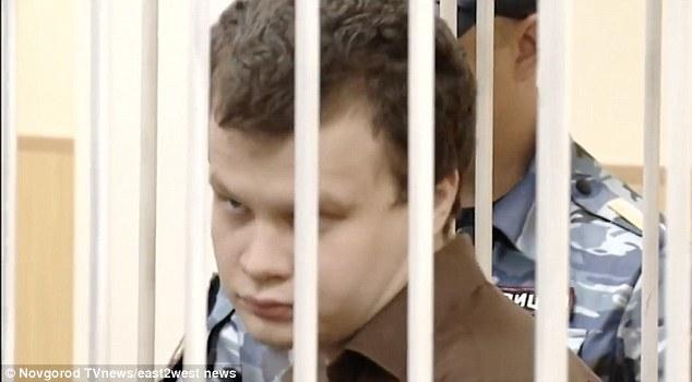 Russian cannibal ate girlfriend's brain and washed it down with her blood