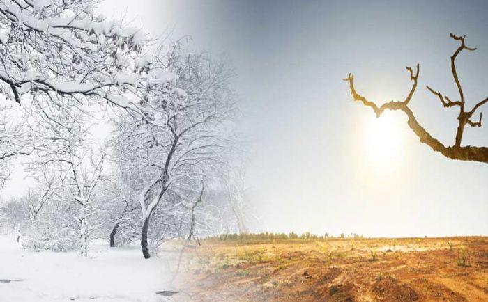 Study reveals human influence detected in changing seasons