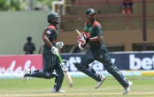 Tamim and Shakib push Bangladesh to respectable total