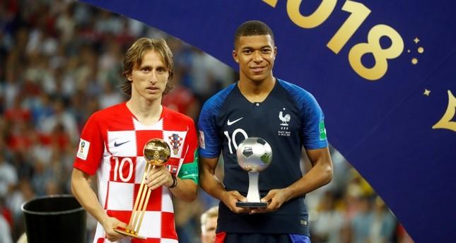 Mbappe, Modric on 10-man list for FIFA best player award
