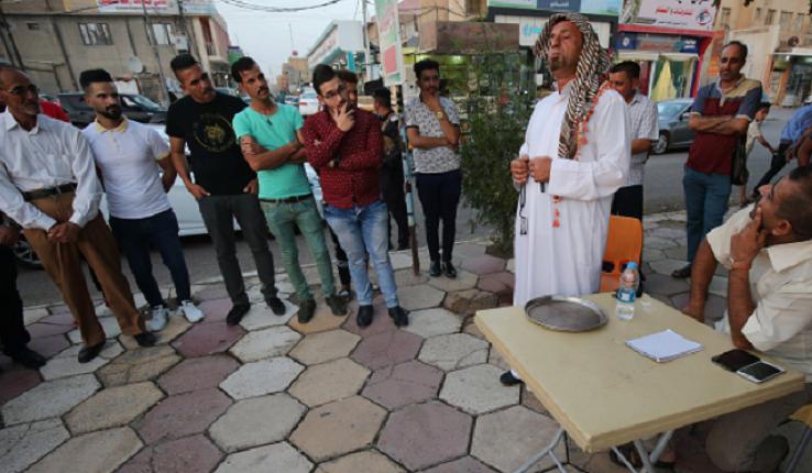 Iraq street satirists peddle culture change