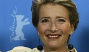 Emma Thompson grows up with 'primitive model' males
