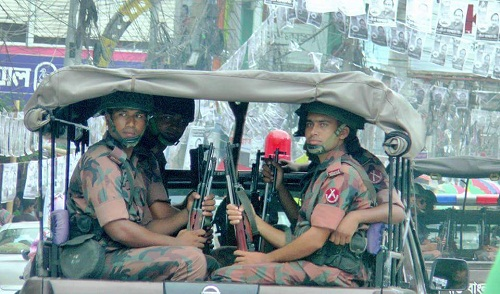 BGB deployed in 3 cities ahead of polls