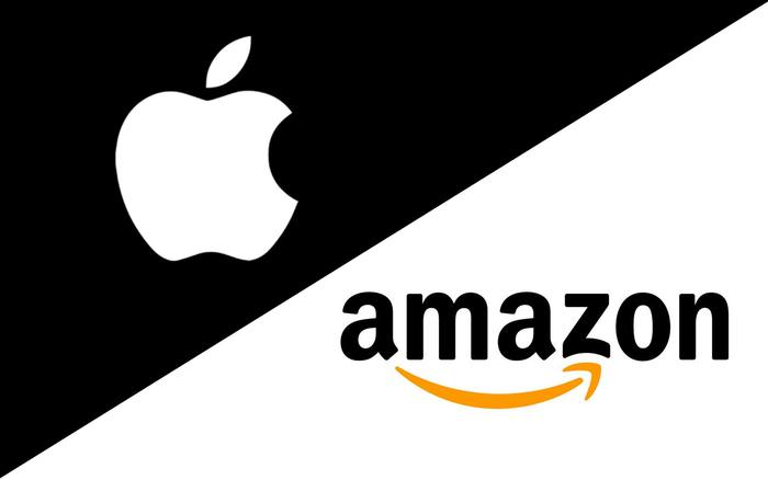 Apple and Amazon lead the pack to $1 trillion market value
