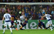 Barcelona topple Tottenham on penalties after 2-2 draw