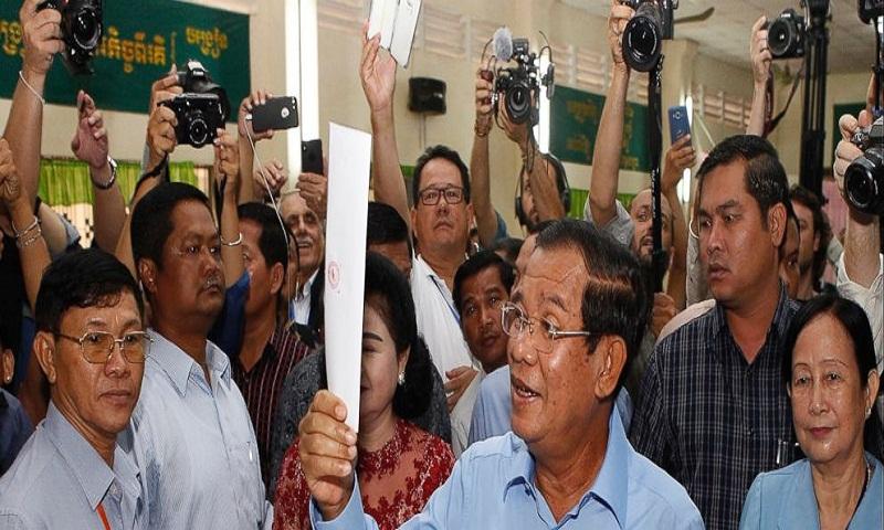 Cambodia's Hun Sen wins after opposition silenced