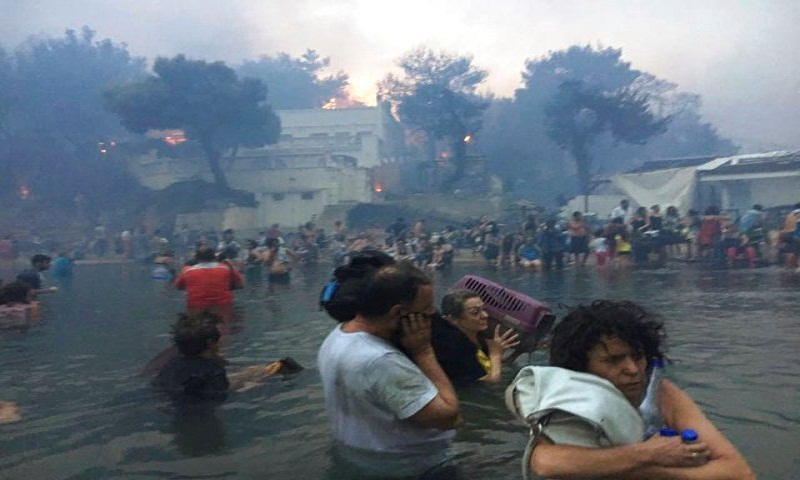 Greece fire death toll at 91, 25 remain missing
