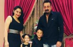 Sanjay Dutt celebrates birthday with family