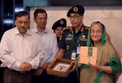 PM unveils book on Bangabandhu's prison life