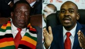 Tense count as two rivals claim election victory in Zimbabwe