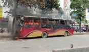 Agitating students torch two buses in capital