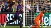 Malcom scores for Barcelona against Roma in 4-2 defeat in Dallas