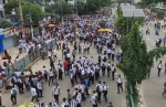 Students continue protests, block roads for 4th day