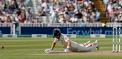 Joe Root's run out sparks England collapse