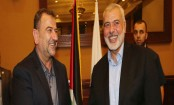 Exiled Hamas leaders enter Gaza to discuss truce with Israel