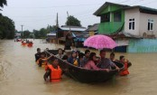 Myanmar floods leave 12 dead, 132,000 displaced