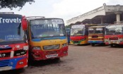 Long-route bus services suspended for 2nd day