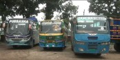 People's sufferings mount as bus services remain halted for 3rd day
