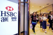 HSBC 1st half pre-tax profit up 4.6 pct on strong growth