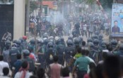 Cops fire teargas shells on East West university students