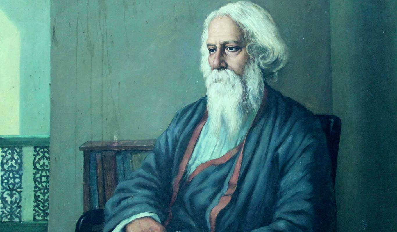 Rabindranath's 77th death anniversary being observed