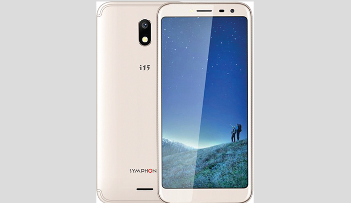 Symphony launches full vision display smartphone