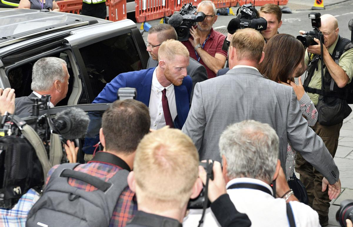 England cricket player Stokes goes on trial for street fight