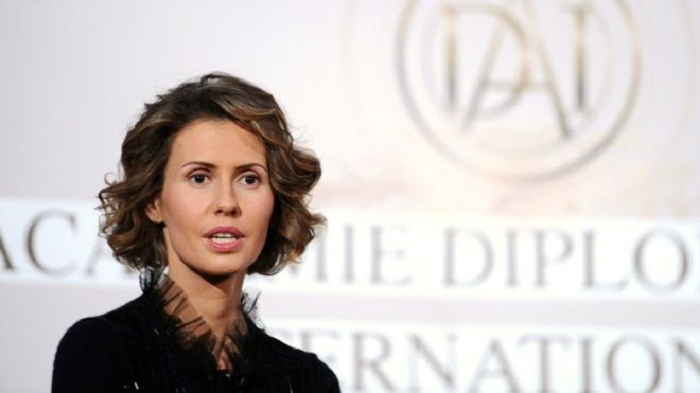 Syria's first lady Asma al-Assad treated for breast cancer