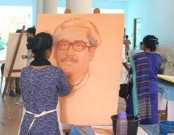 Art camp on Bangabandhu held at Shilpakala Academy