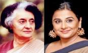 Vidya Balan on Indira Gandhi biopic: Too much material to be made into a film
