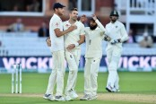 Anderson, Woakes strike as India dismissed for 107 in second Test