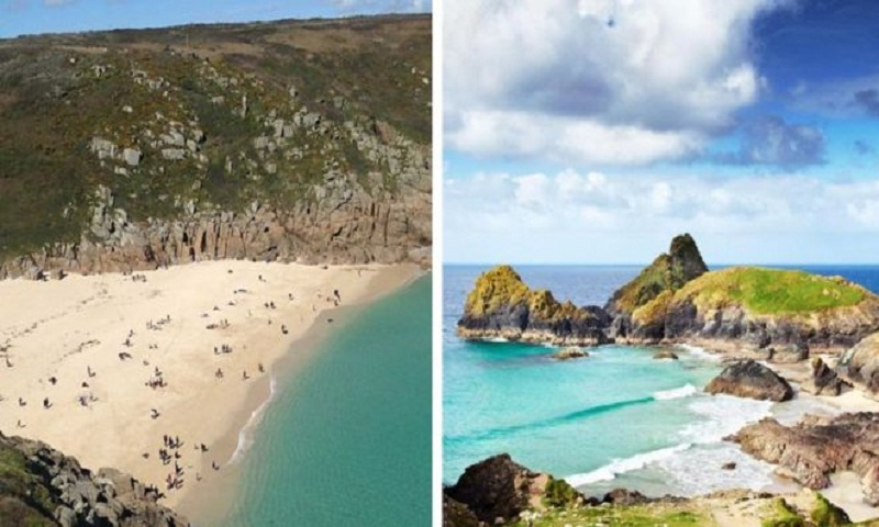 Cornwall hit by 'tourist overcrowding' amid UK heatwave