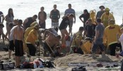 Man drowns after digging beach hole in France