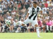 Ronaldo makes Juventus fans wait only 8 minutes for 1st goal