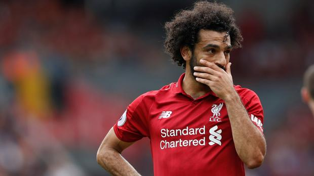 Salah reported over using mobile while driving?