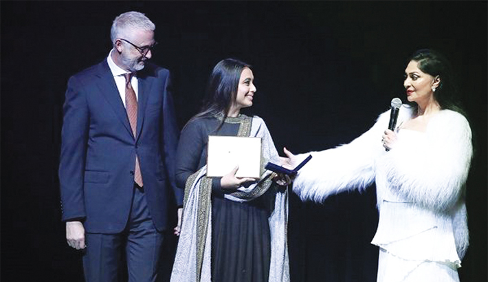 More special to win my first award, for Hichki, after being a mother: Rani