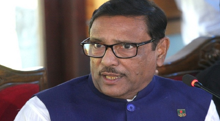 BNP conspiring to foil polls, says Obaidul Quader