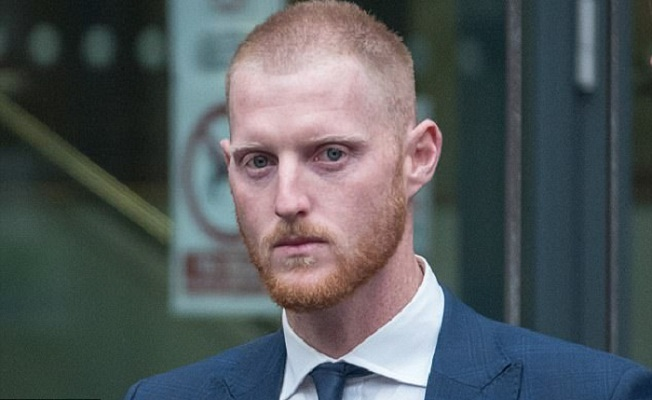 England star Stokes acquitted of affray