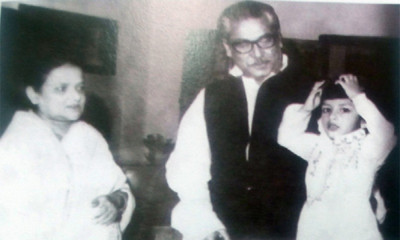 Joy's birthday in 1975 was Bangabandhu's last family function