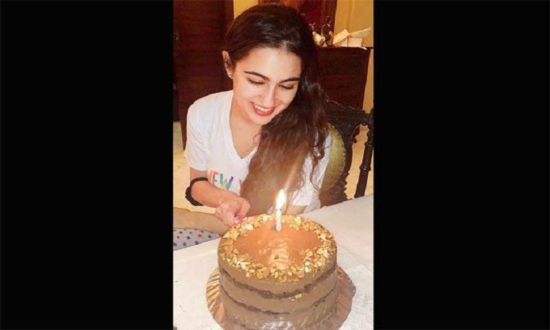 Sara Ali Khan had gluten and sugar-free birthday cake
