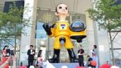 Nuclear boy statue irritates Fukushima
