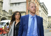 Stokes out of England squad while affray trial continues
