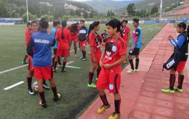 SAFF U-19 Women's Champs: Bangladesh take on Bhutan in semifinal Thursday
